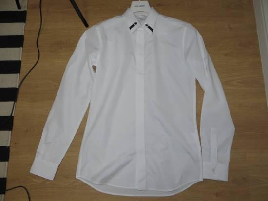 Givenchy Embroidered stars collar shirt Size US XL / EU 56 / 4 - 5
