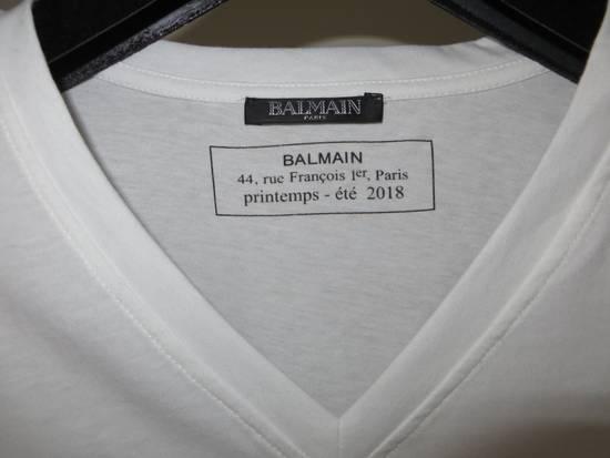 Balmain V-neck logo t-shirt Size US L / EU 52-54 / 3 - 2