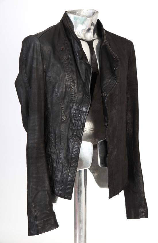 Julius Julius Dove Tail Leather Jacket EU46 Small Size 2 S/S 2012 Size US S / EU 44-46 / 1 - 6