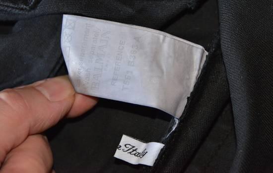 Balmain Silver stretch cropped pants Size US 33 - 4