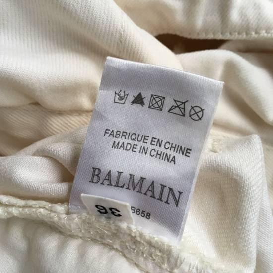 Balmain Balmain White Biker Pants Size US 36 / EU 52 - 6