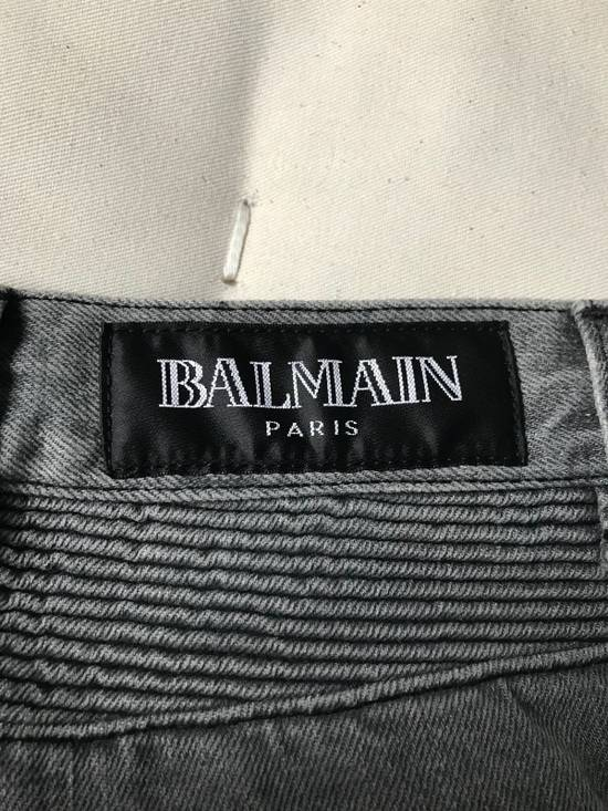 Balmain FW10 Decarnin Biker Jeans Size US 29 - 11