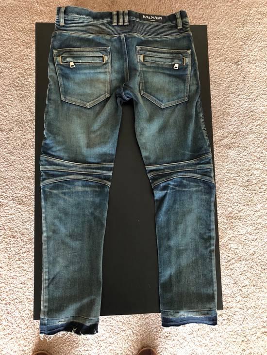 Balmain Balmain Straight Biker Jeans Size US 30 / EU 46 - 1