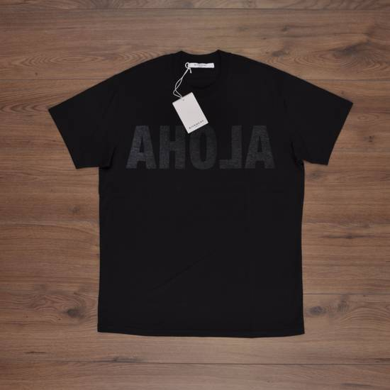 Givenchy Black Cotton Reverse Inside-Out Aloha Print Crew Neck T-Shirt Size US XXS / EU 40 - 5