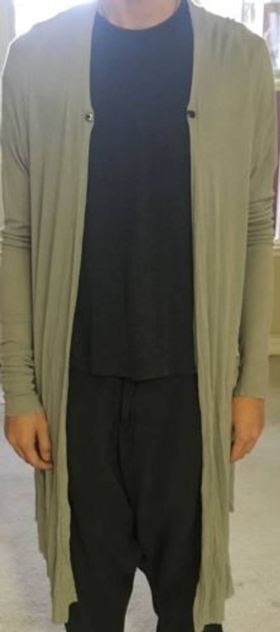Julius light gray silk cardigan Size US M / EU 48-50 / 2 - 4