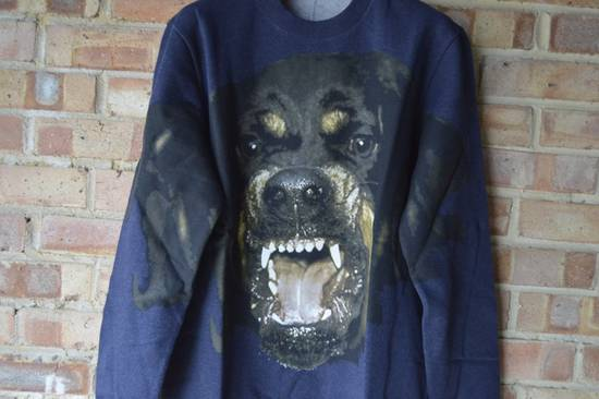 Givenchy Blue Rottweiler Sweater Size US S / EU 44-46 / 1 - 4