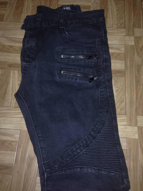 Balmain Black grey tint Balmain Jeans Size US 34 / EU 50 - 1