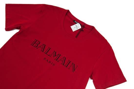 Balmain Red Logo Shirt Size US M / EU 48-50 / 2 - 3