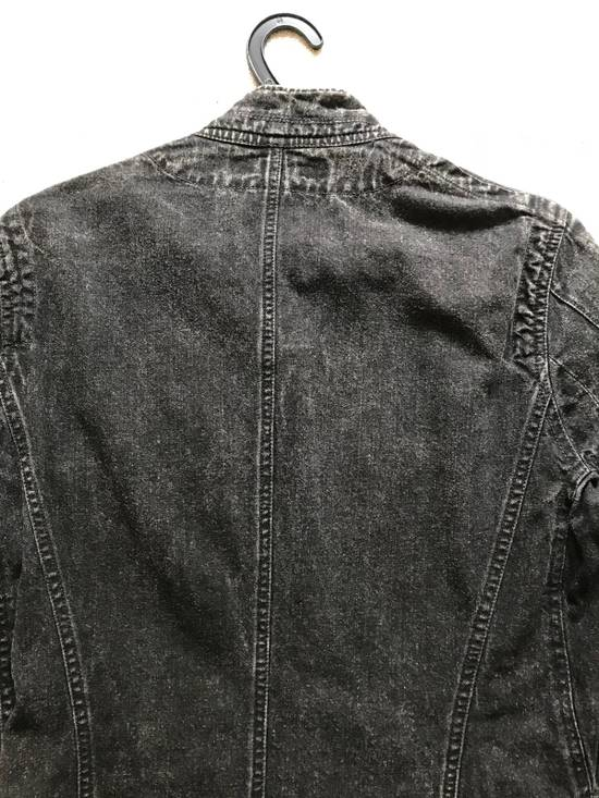 Julius AW12 faded denim jacket with zip. Size US M / EU 48-50 / 2 - 8