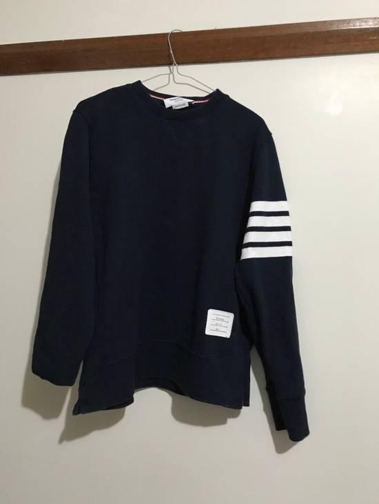 Thom Browne Navy Classic Sweatshirt Size US M / EU 48-50 / 2