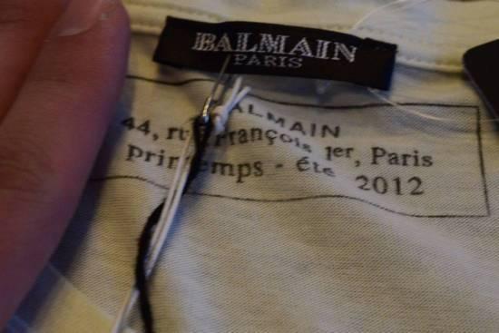 Balmain Balmain $350 Men's Buffalo printed T-shirt Size XS Brand New With Tags Size US XS / EU 42 / 0 - 2