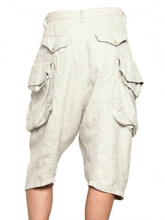 Julius Gas Mask Cargo Shorts White Bamboo Twill ss12 Size US 30 / EU 46 - 9