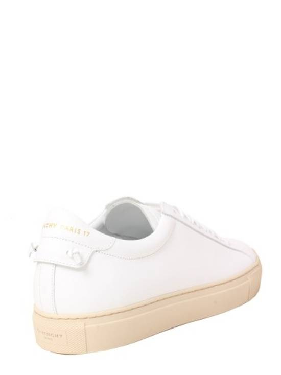 Givenchy Paris White Leather Sneakers Size US 12 / EU 45 - 3