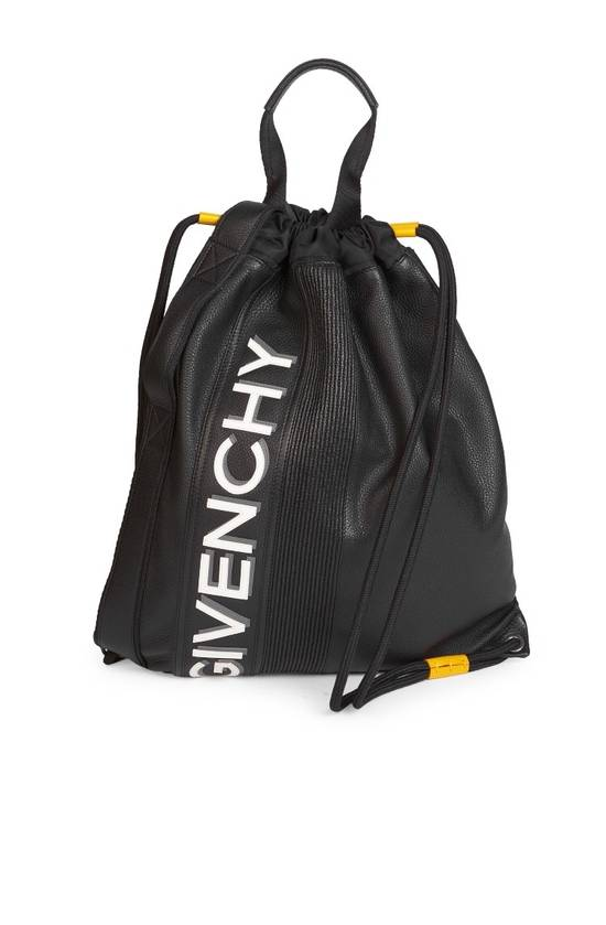 Givenchy Givenchy Logo Print Drawstring Backpack Size ONE SIZE
