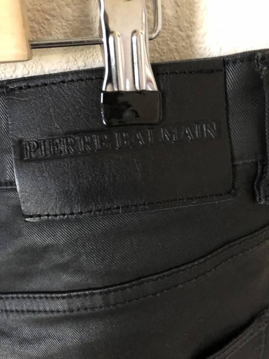 Balmain Balmain Waxed Biker Jeans Size US 32 / EU 48 - 3