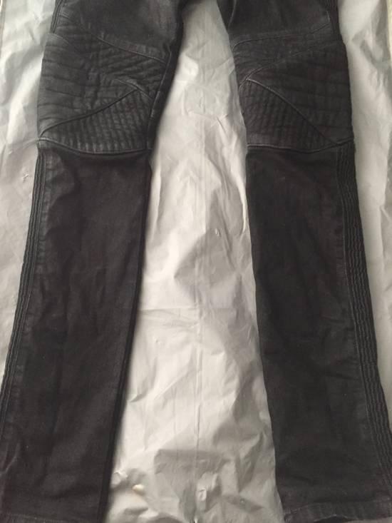 Balmain Balmain black coated biker size 28 Size US 28 / EU 44 - 2