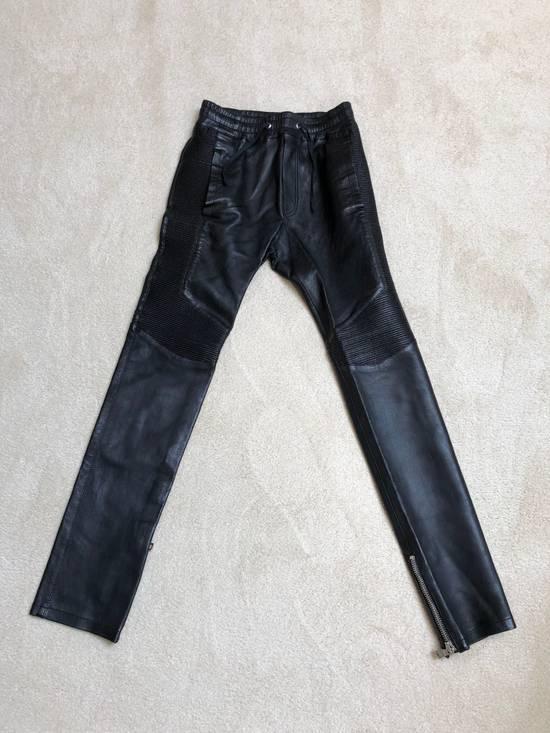 Balmain balmain leather pants Size US 29
