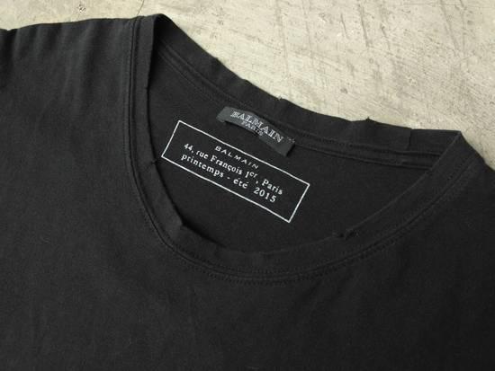 Balmain Balmain black tee Size US M / EU 48-50 / 2 - 1