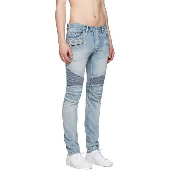 Balmain Distressed Jeans Size US 32 / EU 48 - 6