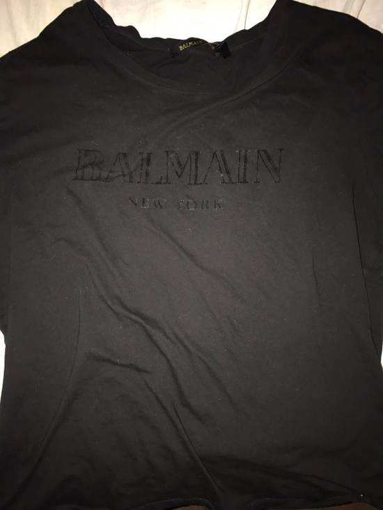 Balmain Balmain H&M Collab Box Logo Size US M / EU 48-50 / 2