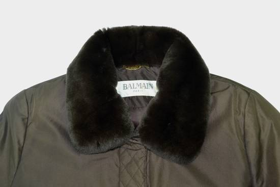 Balmain BALMAIN Jacket Pierre Balmain Jacket Vintage Balmain Paris Fur Lining Collar Button Jacket Size M-L Size US L / EU 52-54 / 3 - 7