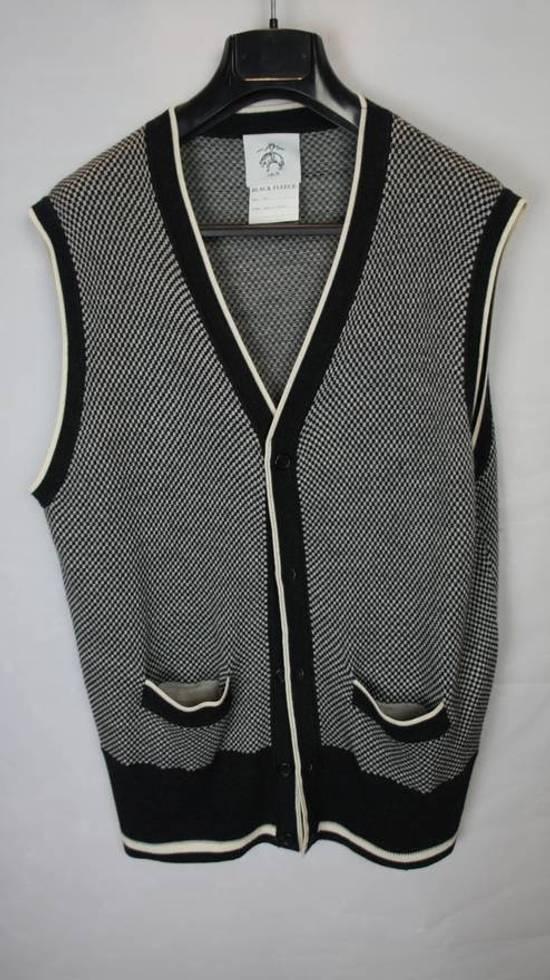 Thom Browne Final Price Black feece vest Size US L / EU 52-54 / 3