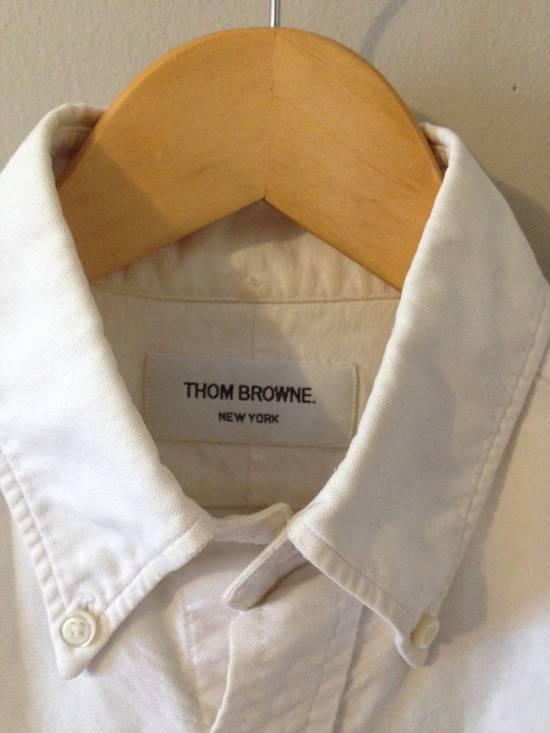 Thom Browne Classic White Slim OCBD Size US XS / EU 42 / 0 - 2