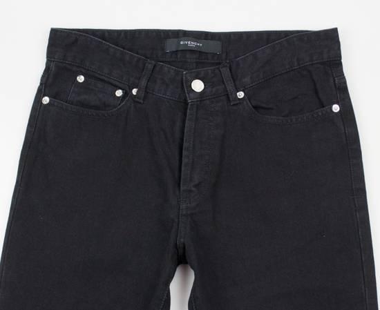 Givenchy Black Cotton Denim Jeans Pants Size US 32 / EU 48 - 2