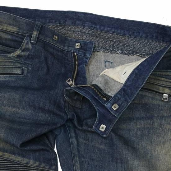 Balmain Balmain Mens Distressed Biker Moto Jeans Sz. 34 T551 C306 Size US 34 / EU 50 - 5