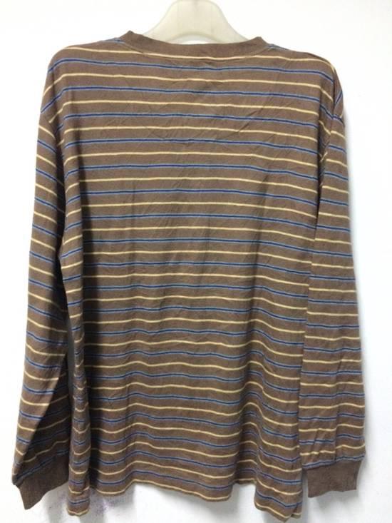 Balmain Stripe Pocket L/Sleeve Shirt BALMAIN Large Japan. Size US L / EU 52-54 / 3 - 3
