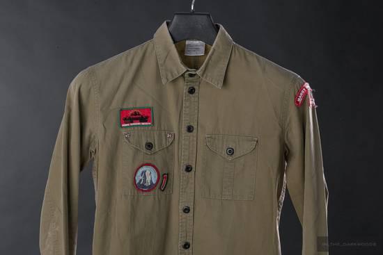 Julius = last drop = Collectors piece: 2003SS patch shirt Size US S / EU 44-46 / 1 - 1