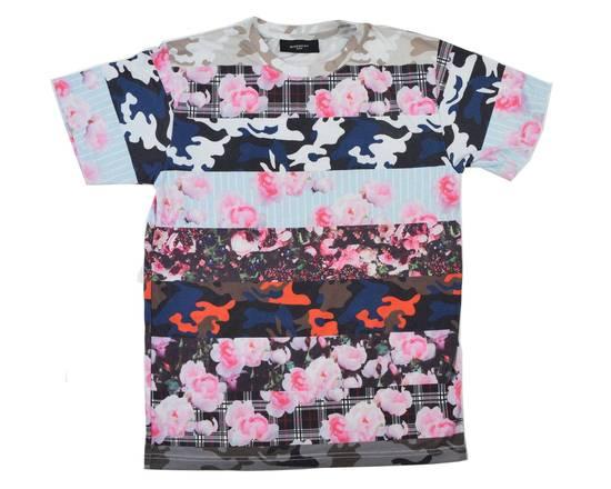 Givenchy Camo Floral Paneled Tee Size US S / EU 44-46 / 1 - 1