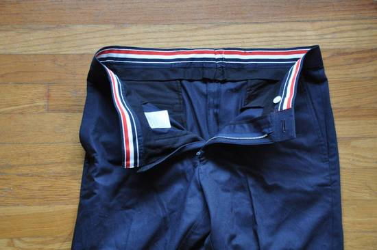Thom Browne Navy Unstructured Chino Size US 31 - 4