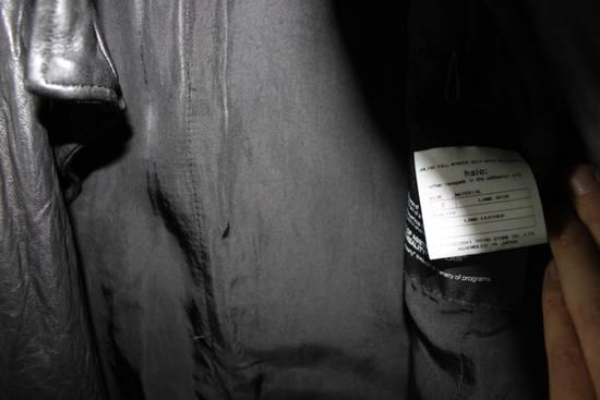Julius 11aw halo asymmetrical leather jacket Size US M / EU 48-50 / 2 - 7