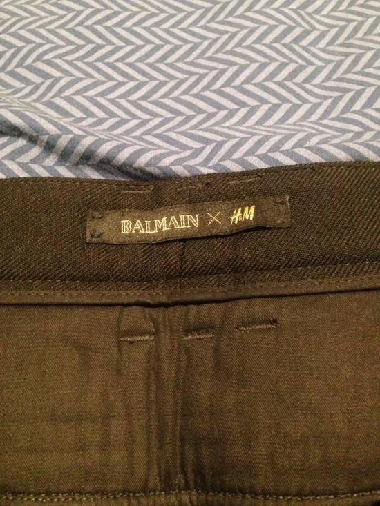 Balmain Wool Cargo Trousers Size US 29 - 2