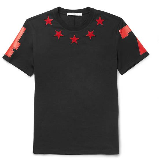 Givenchy Black and Red 5 Stars T-shirt Size US XL / EU 56 / 4 - 1