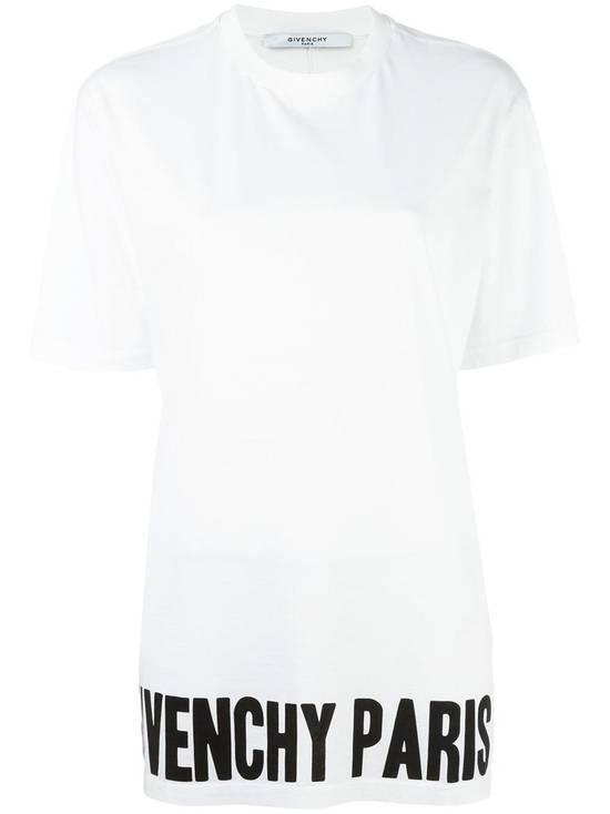 Givenchy $530 Givenchy Paris Black Logo Print Rottweiler Bambi Oversized T-shirt size XS Size US XS / EU 42 / 0 - 1