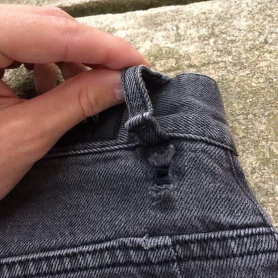 Balmain Gray Balmain Skinny Jeans Size US 27 - 15