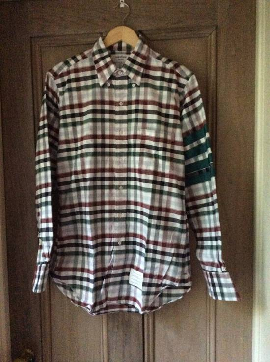 Thom Browne Brushed Multi-Plaid - 4 Bar -2 Size US M / EU 48-50 / 2