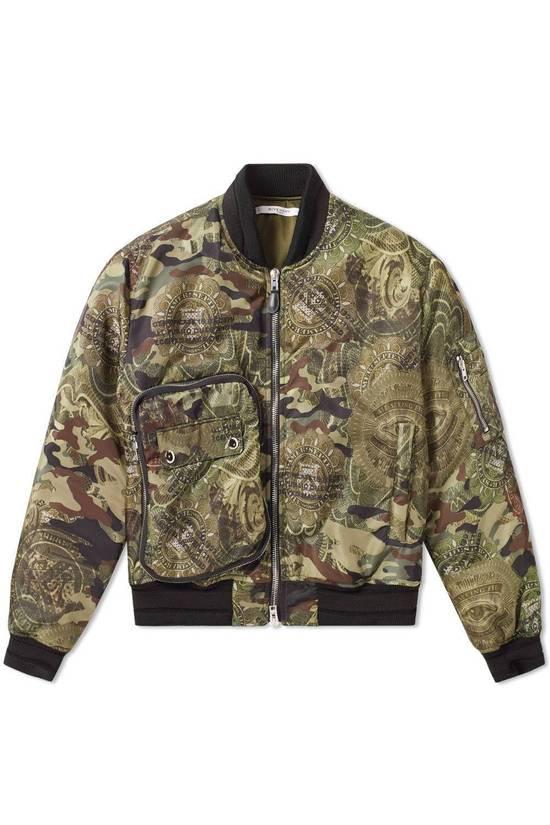 Givenchy 2995$ American Dollar Camouflage Bomber Jacket Size US S / EU 44-46 / 1