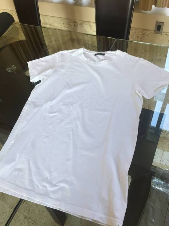 Balmain S & L SS Crew Neck Tee in White Light Distressed Size US S / EU 44-46 / 1 - 6