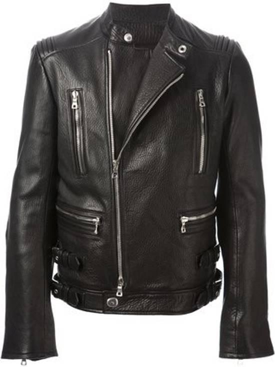 Balmain 2014FW Lambskin Biker Jacket Size US M / EU 48-50 / 2 - 3