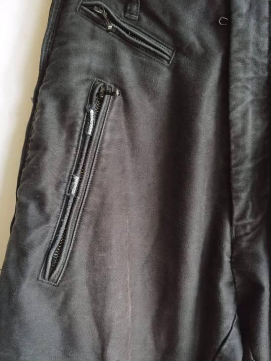 """Julius (Fits 28-32) FW13/14 """"Crack:"""" Zip Pants Size US 30 / EU 46 - 4"""