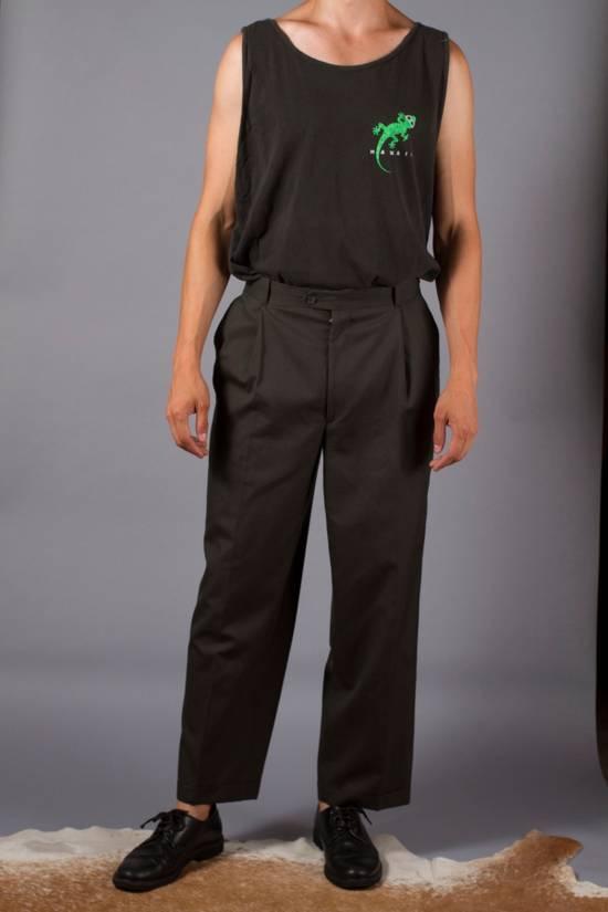 Balmain Pierre Balmain Wool Trouser Wide Leg Size US 32 / EU 48 - 2