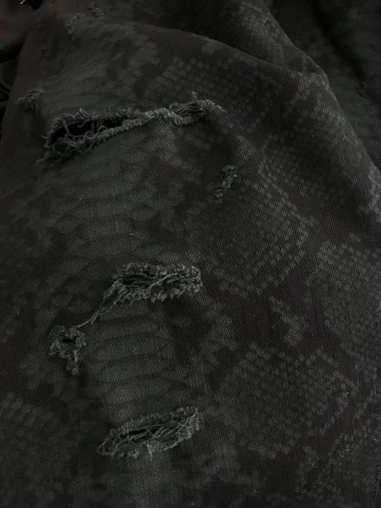 Balmain LAST DROP! Size 32 - Distressed Snake Print Rockstar Jeans - FW17 - RARE Size US 32 / EU 48 - 10