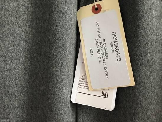 Thom Browne 100% Cashmere Patch Pocket Coat Size US XL / EU 56 / 4 - 1