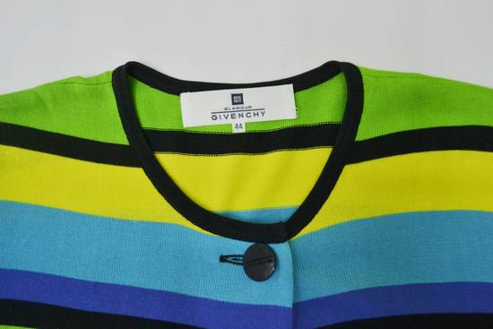 Givenchy Givenchy Shirt Givenchy T Shirt Givenchy Vintage Button Down Multicolor Striped Shirt Vintage Givenchy Glamour Made in Japan Womens Size 44 Size US M / EU 48-50 / 2 - 5
