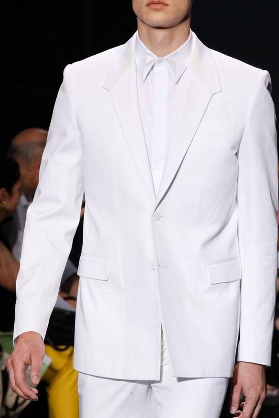 Givenchy SS13 WHITE COLLAR DETAILED SHIRT Size US XS / EU 42 / 0 - 3