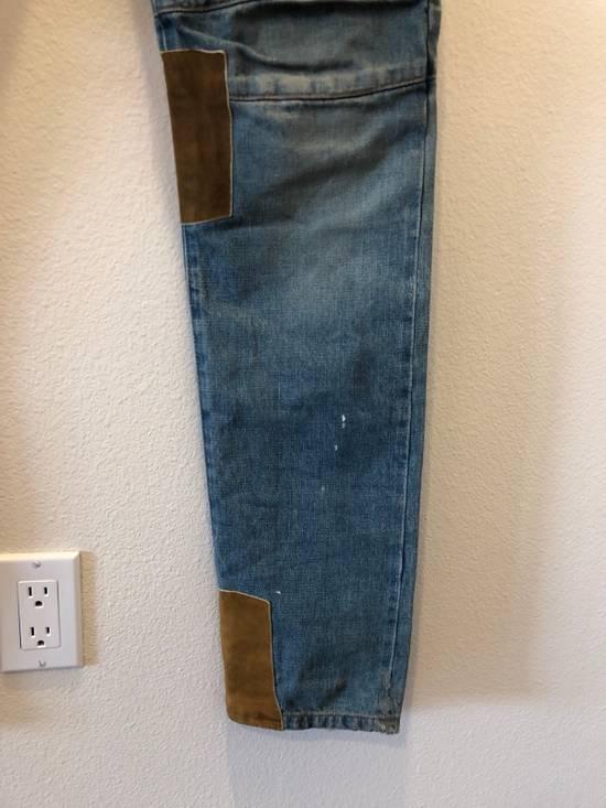 Balmain Patchwork Jeans Size US 30 / EU 46 - 3