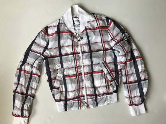 Thom Browne Check Pattern Stadium Jacket Size US S / EU 44-46 / 1